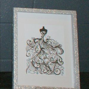 Party Supplies - Party Gown Wall decoration Wedding Bling